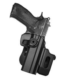 Kombinované pouzdro na zásobník   (umožňuje nasnutí na hřbet pistolového pouzdra nebo připevnění k veškerým)